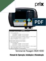 Manual MGR 4000
