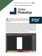 Áreas princaples Adobe Photoshop - Actividad 1 -  Harold Cabrales