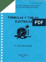 Formulas Y Tablas