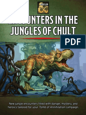 Encounters in the Jungles of Chult - D&D 5th | Dungeons