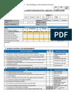 Ficha de Monitoreo Semana de Planificación