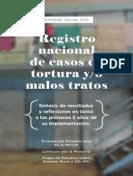 2015 Informe Anual RNCT