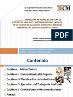Presentación Tesis CPA - Auditoria Financiera