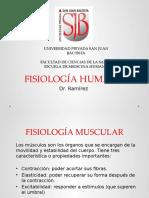 Fisiologia Muscular y Sistema Motor