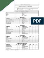 FO-SA-CS-01 Formulario de Asignación Vehicular