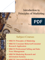 Principles of Marketing for Mktg Majors
