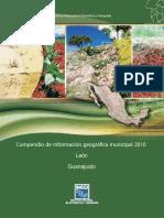 Compendio de informacion geografica municipal