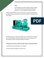 Generador Eléctrico y Alternador