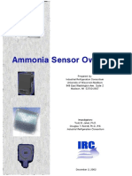 IRC Ammonia Sensor Overview