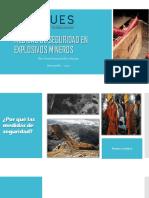 Medidas de Seguridad de Explosivos Mineros