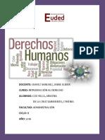Trabajo Monográfico. Derechos Humanos