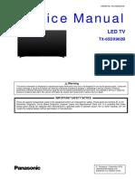 Panasonic TX 65DX902B Chassis LA65