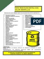 Cartillas de Clasificación de Residuos Corporativo