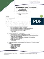 FIMEB - Diseño Mecanico I