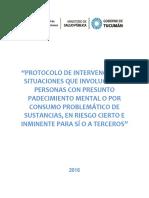 Protocolo de Intervencion en Personas Con Sospecha de Enfermedad Mental