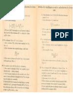 Admitere liceu Matematică 1988