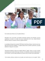 15/06/2018 Con iniciativa para reforzar Ley de Legítima Defensa