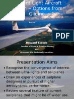Efficient Light Aircraft Design – Gliding