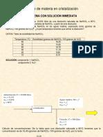 3 Cálculos de Cristalización 2016-1LP