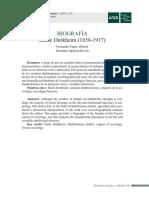 Biografía Emile Durkheim