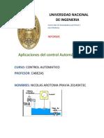 Aplicaciones de Control Automatico