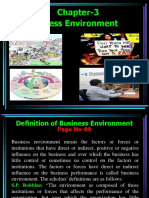 Chapter-3 Business Environment