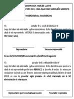 autorizacio vacuna