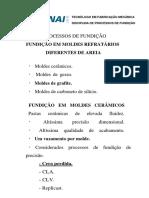 Fundição em moldes refratários e moldes metálicos.pdf