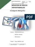 Regeneración de Discos Intervertebrales