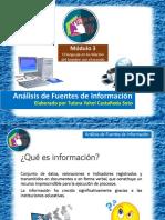 Análisis de Fuentes de Información/Módulo 3