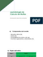 Metodología de Calculo de Multas
