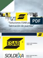 Soluciones Esab Para La Fabricacion de Puentes
