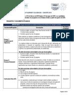 Colciencias Requisitos y Documentos Exigidos 15 de Febrero de 2018