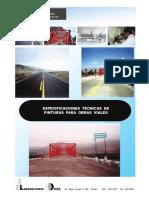 Especificaciones Técnicas de Pinturas para Obras Viales.pdf