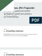 Annotations JPA