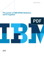 The Power of IBM SPSS Statistics and R Together