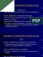 Bases Constitucionales del estabilidad laboral