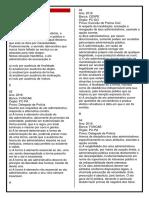 Gabarito- Aula 3 e 4
