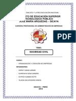 Monografia Sociedad Civil