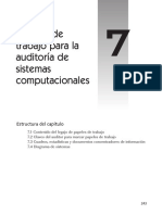 Papeles de Trabajo Para La Auditoría de Sistemas Computacionales