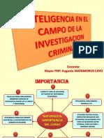 Inteligencia en El Campo de La IC.- I Sesión