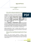 Nota de Prensa - Declaraciones Patricia Linares, Presidenta de la JEP