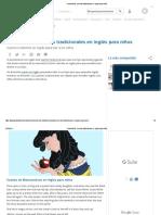 Snow White. Cuentos Tradicionales en Inglés Para Niños