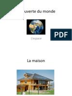 Découverte Du Monde Espace