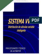 Curso Sistema Vvt i Distribucion Valvulas Variable Inteligente Motor Convencional Control Electronico Partes Operacion