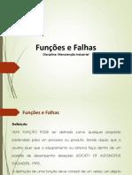 Funções e Falhas Funcionais