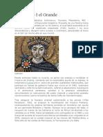 Biografia Justiniano I El Grande