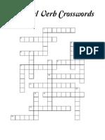 Phrasal Verbs Crosswords