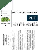 Sociología Sistematica 2018