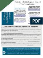 emergent literacy newsletter whitefield